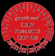 DGUV V3 Prüfung in der Region Stuttgart